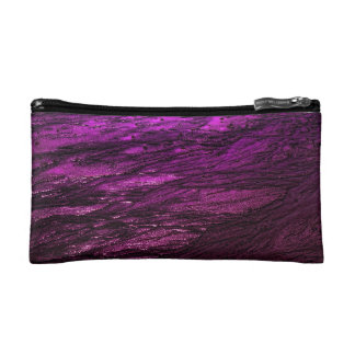 Low tide - fuchsia cosmetic bag