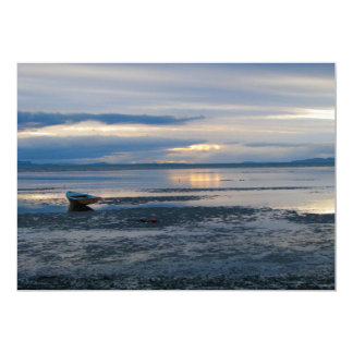 Low Tide In Birch Bay Card