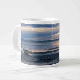 Low Tide In Birch Bay Giant Coffee Mug