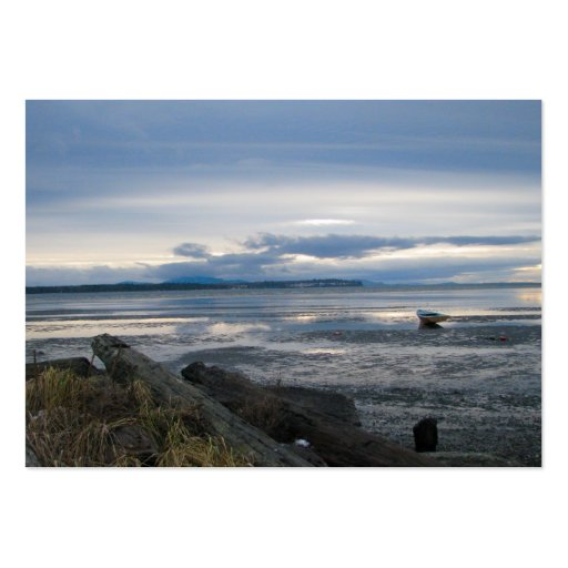 Low Tide Large Business Cards (Pack Of 100)
