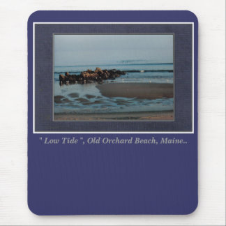 """Low Tide "", Old Orchard Beach, Maine Mouse Pad"