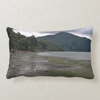 Low tide throw pillows