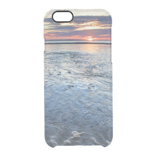 Low Tide Sunset Clear iPhone 6/6S Case