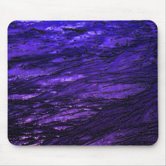 Low tide - violet mouse pad