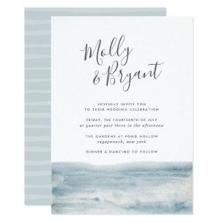 Low Tide Wedding Invitation