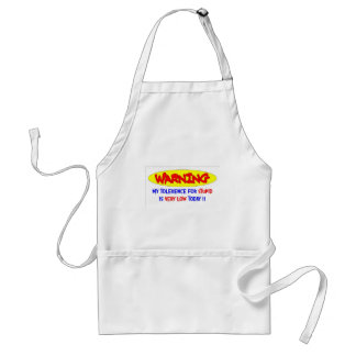 LOW TOLERENCE ADULT APRON