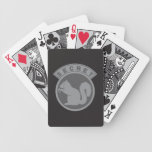 Low Vis Secret Squirrel Poker Deck