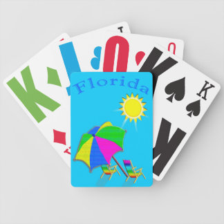 Low Vision Playing Cards FLORIDA Gifts