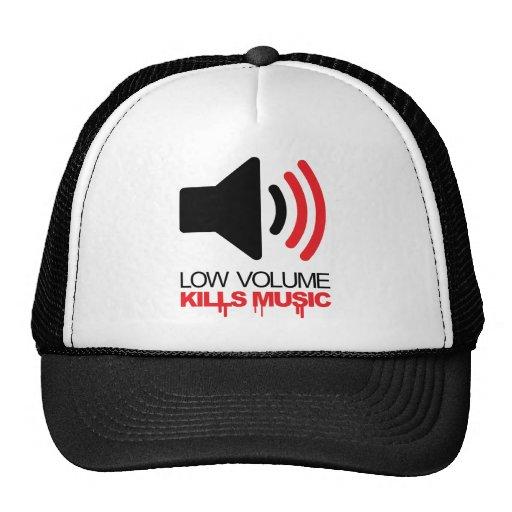Low Volume Kills Music Trucker Hats