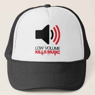 Low Volume Kills Music Trucker Hat