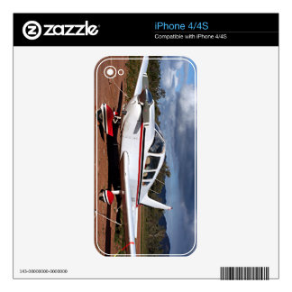 Low wing aircraft, Outback Australia 1 iPhone 4S Decal