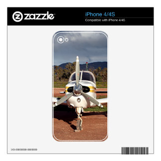Low wing aircraft, Outback Australia 2 iPhone 4S Decal