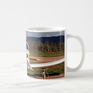 Low wing aircraft, Outback Australia 2 Classic White Coffee Mug