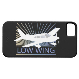 Low Wing Airplane iPhone SE/5/5s Case