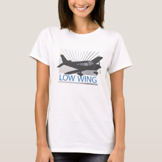 Low Wing Airplane T-Shirt