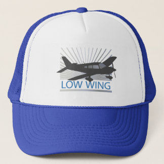 Low Wing Airplane Trucker Hat