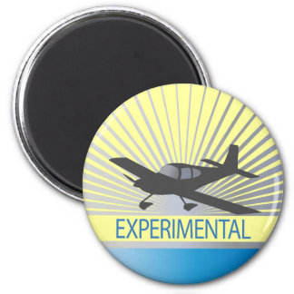 Low Wing Experimental Airplane Magnet