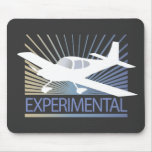 Low Wing Experimental Airplane Mouse Pad