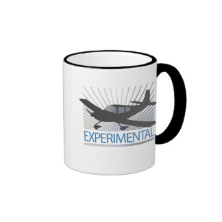 Low Wing Experimental Airplane Ringer Coffee Mug