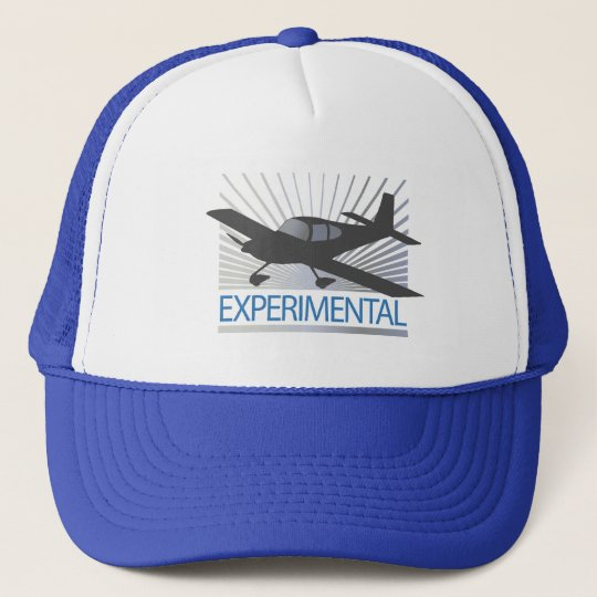 Low Wing Experimental Airplane Trucker Hat