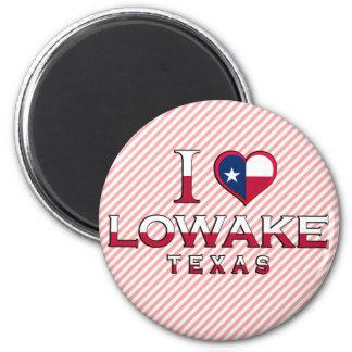Lowake, Texas 2 Inch Round Magnet