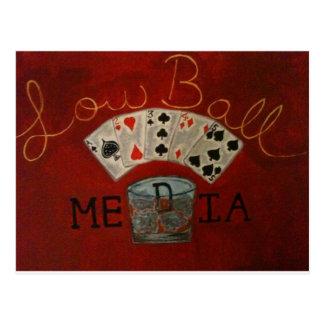 LowBall Media logo Postcard