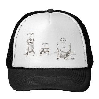 Lowboy Cartoon Hat
