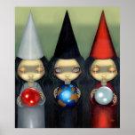 Lowbrow gótico de la bruja de las brujas de la IMP Poster