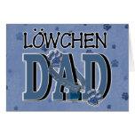 Lowchen DAD Greeting Card