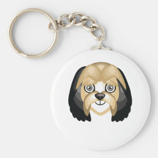Lowchen Dog Breed - My Dog Oasis Keychain