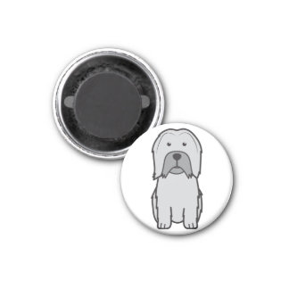 Lowchen Dog Cartoon Fridge Magnets