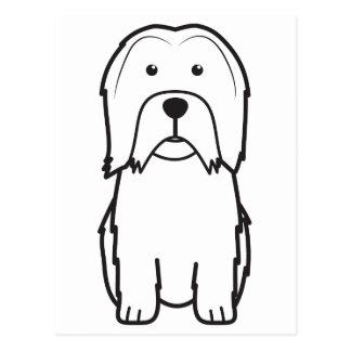 Lowchen Dog Cartoon Postcard