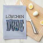 Lowchen DUDE Hand Towels