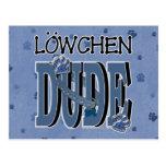 Lowchen DUDE Postcard