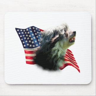 Löwchen Flag Mouse Pad