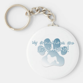 Lowchen Grandchildren Keychain