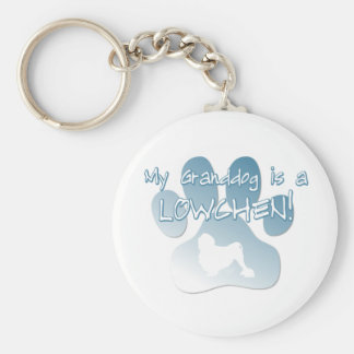 Lowchen Granddog Keychain