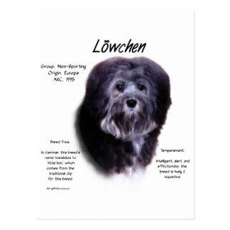 Löwchen History Design Postcard