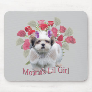 Lowchen Momma's Lil Girl Gifts Mouse Pad