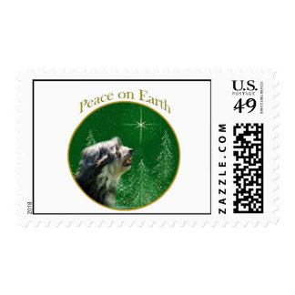 Lowchen Peace Postage