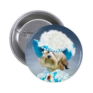 Löwchen-Petit Chien Lion Button Nobility Dogs Gift