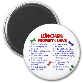LOWCHEN Property Laws 2 Magnets