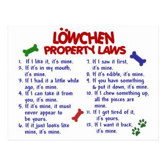 LOWCHEN Property Laws 2 Postcard