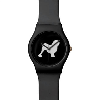 Lowchen Silhouette Wrist Watch