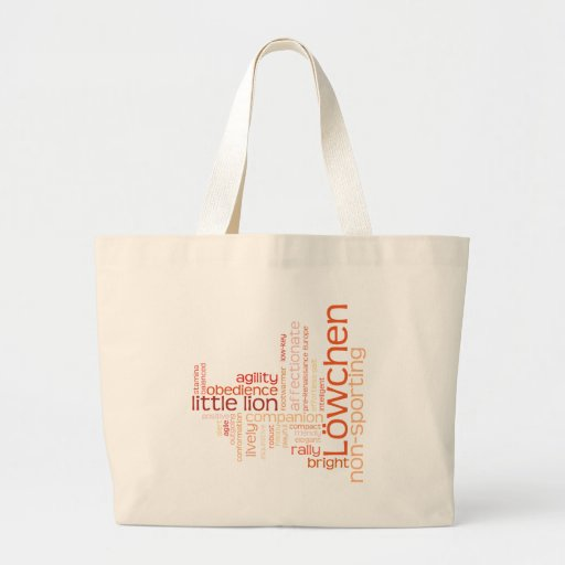 Lowchen Tote Bags