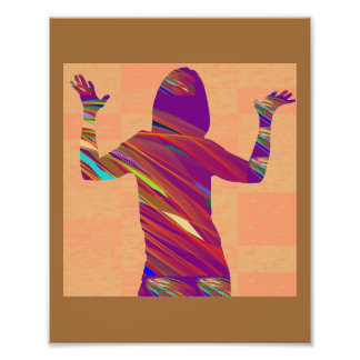 LowCost DECORATIONS on KODAK Paper : Dancer Singer Photo Print