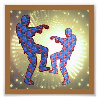LowCost DECORATIONS on KODAK Paper : Zombie Dance Photo Print