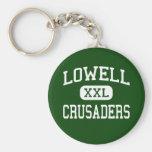 Lowell - Crusaders - Catholic - Lowell Key Chain