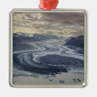 Lowell Glacier flows into the Alsek River in Christmas Tree Ornaments