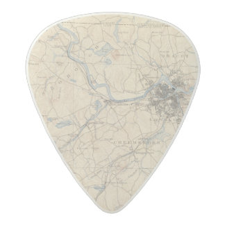 Lowell, Massachusetts Acetal Guitar Pick